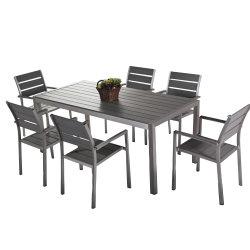 Отель Garden новый дизайн для любой погоды полимерная дерева отель обеденный стол и стулья