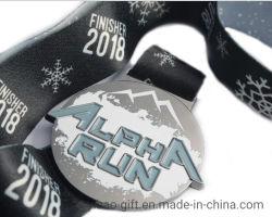 Bon marché de gros de la conception personnalisée de la Promotion de Noël Cadeaux d'hiver Sport Gold Award de la médaille de métal (YB-M-33)