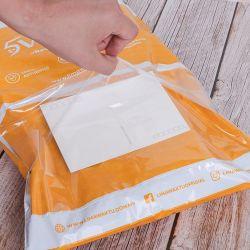 Personnalisé jaune avec pochette Poly Mailer sac pour l'expédition Prix de vêtements