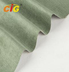 De zachte Stof van het Fluweel van de Polyester voor Bank/het Meubilair Alle Kleuren is Beschikbaar