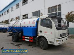 hoher Druck-Gebläse-Abfluss-Reinigung Toilate LKW der Absaugung-10000L