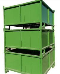 صندوق معدني قابل للطي لإطار حامل مواد للخدمة الشاقة قابل للطي حامل المواد