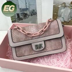 卸し売り女性Grsの証明の専門職OEMの完全菜食主義者の革ショルダー・バッグSh1370による流行のハンド・バッグ