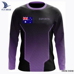Haute Qualité E-Sports à manchon long modèle Jersey
