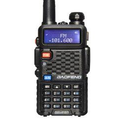 Radio de dos vías Baofeng F8+ de doble banda VHF UHF más potente de 5W Walkie Talkie