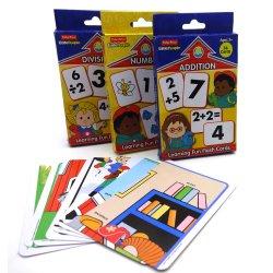 Apprendimento delle schede istantanee di per la matematica dei giochi della scheda di memoria per i capretti
