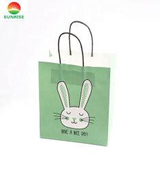 L'OEM accetta il sacchetto biodegradabile stampato abitudine della carta kraft di promozione