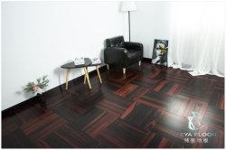 Ebony Engineered Wood Flooring/Espinha de Design/soalhos/piso de madeira/pisos em madeira e piso de madeira maciça