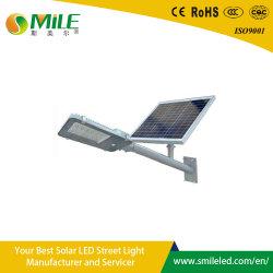 Éclairage extérieur solaire intégré 6m pôle d'éclairage LED lampe de la rue 36W 20W 120W solaire bras double éclairage de rue