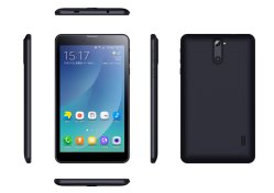7 pulgadas de pantalla táctil WiFi+4G teléfono Android Tablet PC cubierta de plástico