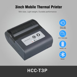 De Draagbare 80mm Thermische Mobiele Printer WiFi van Bluetooth USB (hcc-T3P)