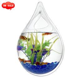 Decoração montado na parede do tanque de peixes acrílico decoração de aquários
