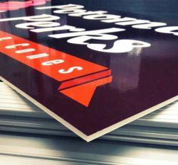 Custom ПВХ пена плата/ Kt Плата/ АБС платы/акриловый платы/Плата Corflute УФ-печать