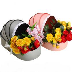 La Saint Valentin fleur Case Berceau pour bébé anniversaire boîte cadeau de fleur fleur Butterfly-Knotted boîte cadeau