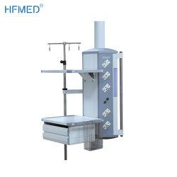 منصة أرضية كهربائية تعمل بالطاقة الكهربائية غرفة ICU بندول يستخدم الغاز الطبي عمود ICU للمعدات