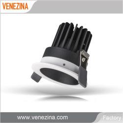 공장 공급 Interiro LED 천장 조명 3가지 조광 가능 웜 백색 COB LED 다운라이트