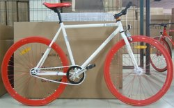 ユニークなマウンテンバイクカメレオンカラー MTB 29er *2.1 ホイールタイヤサイクリング自転車ダブルディスクブレーキ