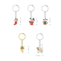 2019 Fashion Christmas Pendant Halskette Set