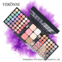 Die 78 Farben-Verfassung stellte ein, 48 Mattlippenglanz der schimmer-Augenschminke-Paletten-24/Concealer 6 Basis-Gesichts-Puder/errötet Kosmetik-Installationssatz