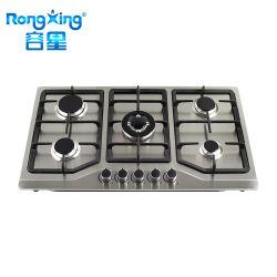 acier inoxydable cuisinière à gaz chinois correspondance de plage de cuisine avec machine à café