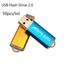 50ПК/оптовые партии небольшая емкость флэш-накопитель USB 2.0 реальные возможности 128 МБ, 4 ГБ свободного диск логотип
