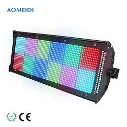 Partie de l'événement SMD atomique DMX512 1000W RGB 3 en 1 Voyant de contrôle de la zone de pixels Lumière stroboscopique