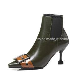Calcanhar de alta Senhora Sexy PU Boot