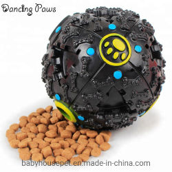 Alimentador de caucho pelota Interactive/Tratar/masticar la limpieza de dientes de perro juguetes/Pet Pet Products