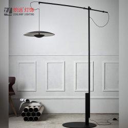Fantasia contemporânea Candeeiro de metal preta para decoração de sala de estudo