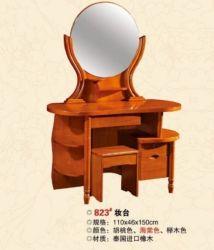 Toilettafel van de Lijst van de make-up de Stevige Houten Eiken