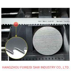 Tct de alta calidad hoja de sierra de banda para el corte de acero al carbono