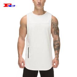 Comercio al por mayor de la malla Gym Fitness muscular de la utilidad de los hombres camisetas