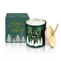 Рождество подарочный набор РПИ окрашенные стекла при свечах кувшин ароматного держатель