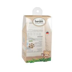 La vente au détail boîtier en plastique clair personnalisé pendaison boîte pour les produits de bébé