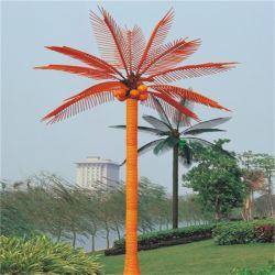 Palma artificiale esterna della noce di cocco di illuminazione LED di natale