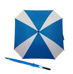 "Manual de 30"" Abrir Windproof Golf paraguas cuadrado"