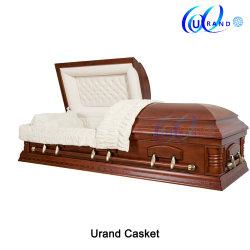 2019/bois/bois/bois de placage de funérailles/incinération/peuplier/Oak/Cherry/acajou/USA cercueil Local&Coffin