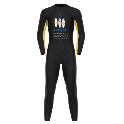 Nouveau style de matériau en néoprène 3mm Wetsuit Spearfishing Plongée sous marine Surf Wetsuit