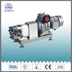 Les mesures sanitaires à vitesse fixe en acier inoxydable réducteur de sortie de pompe à lobes