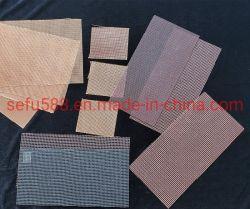 製造業者からの鋳物場のための高い無水ケイ酸のガラス繊維の網フィルター