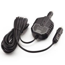 Зарядное устройство для запуска двигателя от внешнего источника автомобиля с помощью цифрового счетчика на дисплее емкости аккумулятора