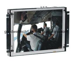 """10.2 """" 산업 통제를 위한 대형 스크린 LCD 금속 열린 구조 접촉"""