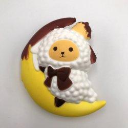 Луну овец PU игрушки игрушка Squishies Squishy медленный рост