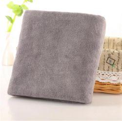 美容院の浴衣のMicrofiberの毛タオル70*140cm安いMicrofiberの浴室タオル