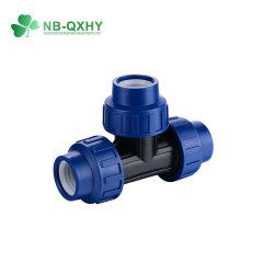 Irrigation Turkey Blue PP raccordo idraulico 90 raccordo a T uguale femmina Raccordo a T filettato