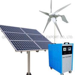 on/off ZonneGenerator van de Wind van de Schone Energie van de Turbine van de Wind van de Zonnepanelen 100W-200kw van het Net Draagbare Hybride met ISO, Ce