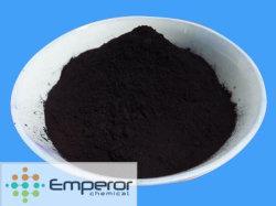 硫黄の黒の染料