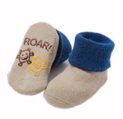 Custom no resbaladizas gruesos de algodón de invierno cálido Baby Kids Calcetines Terry