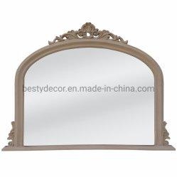 В Европейском стиле Homeware висящих наружного зеркала заднего вида в рамке / старинной серо-коричневого