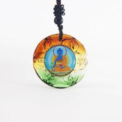 De soorten Customerr ontwerpen de Cambodjaanse Halsband van Boedha met het Beeld van Boedha van de Geneeskunde als Tegenhanger van Mens Boedha